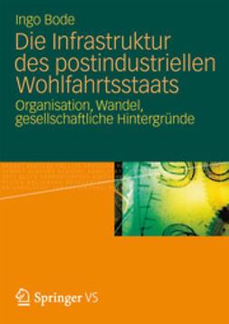 Bode, Ingo - Die Infrastruktur des postindustriellen Wohlfahrtsstaats, ebook