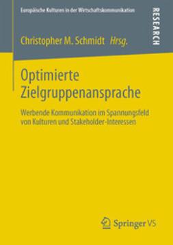 Schmidt, Christopher M. - Optimierte Zielgruppenansprache, ebook