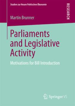 Brunner, Martin - Parliaments and Legislative Activity, e-kirja
