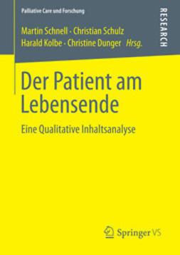 Schnell, Martin - Der Patient am Lebensende, e-bok