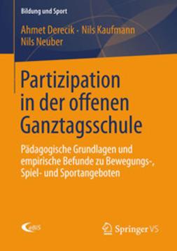 Derecik, Ahmet - Partizipation in der offenen Ganztagsschule, ebook