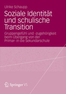 Schaupp, Ulrike - Soziale Identität und schulische Transition, ebook
