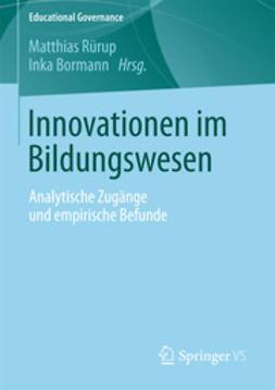 Rürup, Matthias - Innovationen im Bildungswesen, ebook