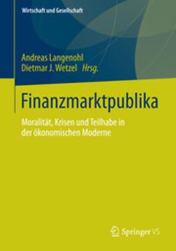 Langenohl, Andreas - Finanzmarktpublika, ebook