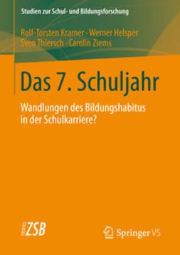Kramer, Rolf-Torsten - Das 7. Schuljahr, ebook