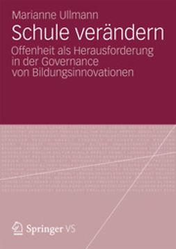 Ullmann, Marianne - Schule verändern, ebook