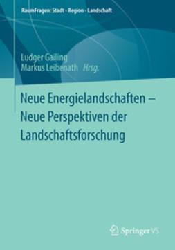 Gailing, Ludger - Neue Energielandschaften –  Neue Perspektiven der Landschaftsforschung, e-bok