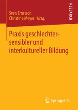Ernstson, Sven - Praxis geschlechtersensibler und interkultureller Bildung, e-kirja