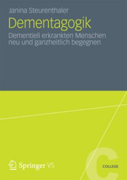 Steurenthaler, Janina - Dementagogik, ebook
