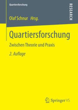 Schnur, Olaf - Quartiersforschung, ebook