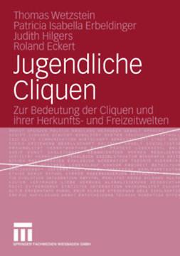 Wetzstein, Thomas - Jugendliche Cliquen, e-kirja