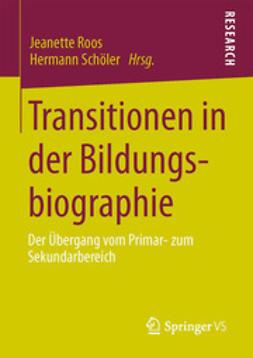 Roos, Jeanette - Transitionen in der Bildungsbiographie, ebook