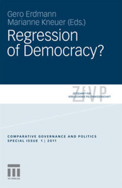 Erdmann, Gero - Regression of Democracy?, e-bok