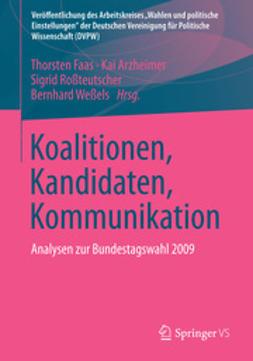 Faas, Thorsten - Koalitionen, Kandidaten, Kommunikation, e-kirja