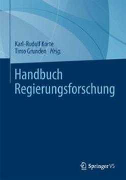 Korte, Karl-Rudolf - Handbuch Regierungsforschung, ebook