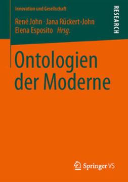 John, René - Ontologien der Moderne, ebook