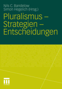 Bandelow, Nils C. - Pluralismus – Strategien – Entscheidungen, ebook