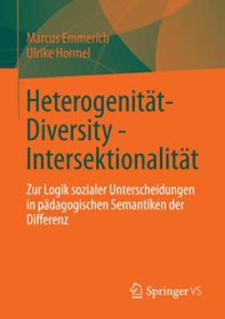 Emmerich, Marcus - Heterogenität - Diversity - Intersektionalität, ebook