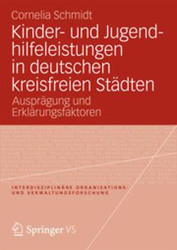 Schmidt, Cornelia - Kinder- und Jugendhilfeleistungen in deutschen kreisfreien Städten, ebook