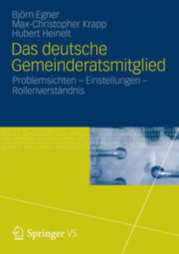 Egner, Björn - Das deutsche Gemeinderatsmitglied, ebook
