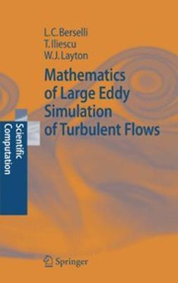 Berselli, Luigi C. - Mathematics of Large Eddy Simulation of Turbulent Flows, ebook