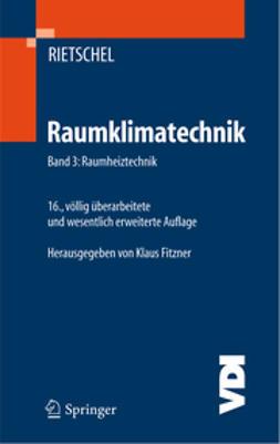Fitzner, Klaus - Raumklimatechnik, e-kirja
