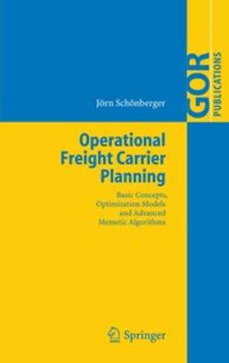 Schönberger, Jörn - Operational Freight Carrier Planning, ebook