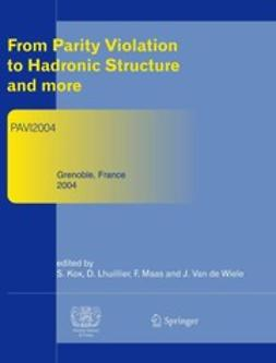 Kox, Serge - From Parity Violation to Hadronic Structure and more, ebook