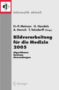 Handels, Heinz - Bildverarbeitung für die Medizin 2005, ebook