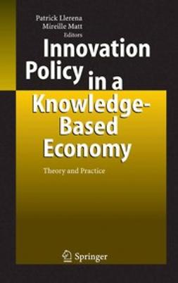 Llerena, Patrick - Innovation Policy in a Knowledge-Based Economy, e-bok