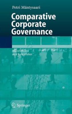 Mäntysaari, Petri - Comparative Corporate Governance, e-bok