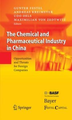 Festel, Gunter - The Chemical and Pharmaceutical Industry in China, ebook