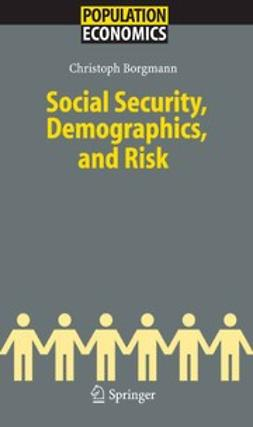Borgmann, Christoph - Social Security, Demographics, and Risk, e-bok