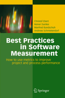 Bundschuh, Manfred - Best Practices in Software Measurement, ebook