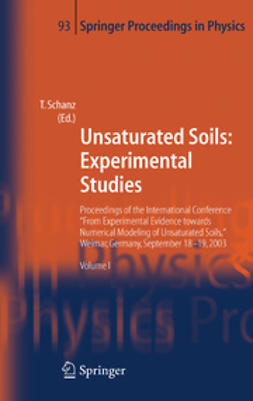 Schanz, Tom - Unsaturated Soils: Experimental Studies, ebook
