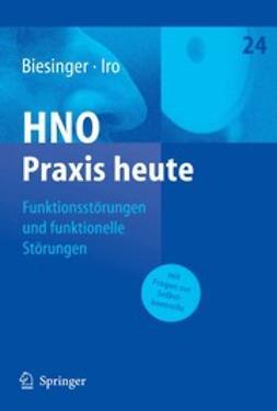 Biesinger, Eberhard - Funktionsstörungen und funktionelle Störungen, ebook
