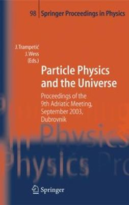 Trampetić, Josip - Particle Physics and the Universe, e-kirja