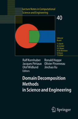 Barth, Timothy J. - Domain Decomposition Methods in Science and Engineering, ebook