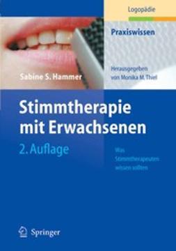 Hammer, Sabine S. - Stimmtherapie mit Erwachsenen, ebook