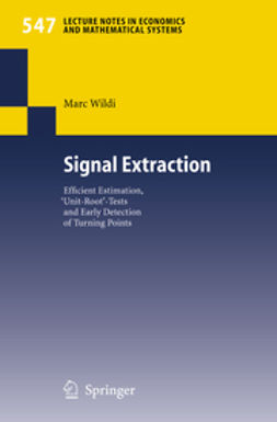 Wildi, Marc - Signal Extraction, ebook