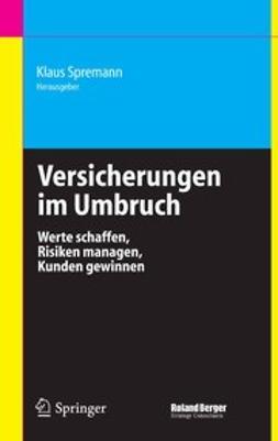 Spremann, Klaus - Versicherungen im Umbruch, ebook