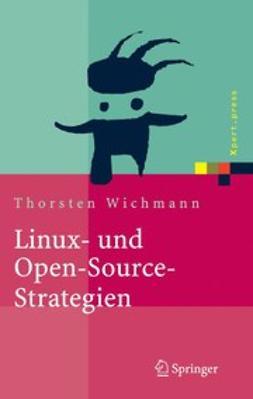 Wichmann, Thorsten - Linux- und Open-Source-Strategien, e-bok