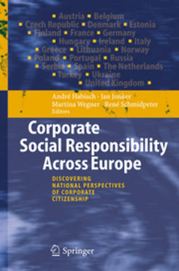 Habisch, André - Corporate Social Responsibility Across Europe, ebook