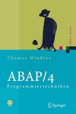 Winkler, Thomas - ABAP/4 Programmiertechniken, ebook