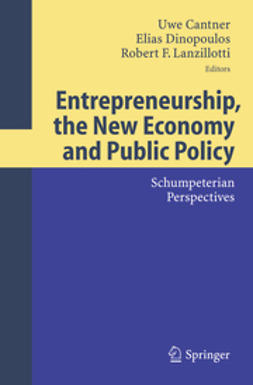 Cantner, Uwe - Entrepreneurships, the New Economy and Public Policy, ebook