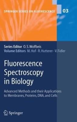 Fidler, V. - Fluorescence Spectroscopy in Biology, ebook