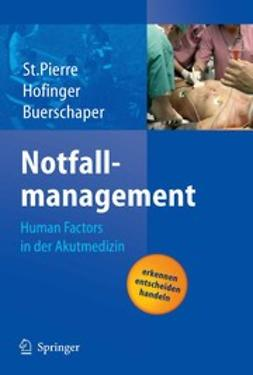 Buerschaper, Cornelius - Notfallmanagement, ebook