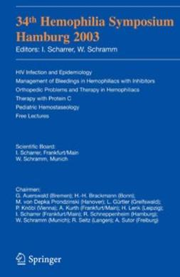 Scharrer, I. - 34th Hemophilia Symposium, ebook