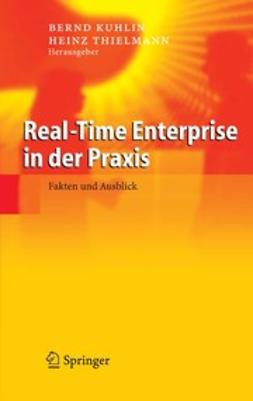 Kuhlin, Bernd - Real-Time Enterprise in der Praxis, ebook
