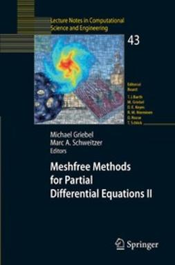 Griebel, Michael - Meshfree Methods for Partial Differential Equations II, ebook
